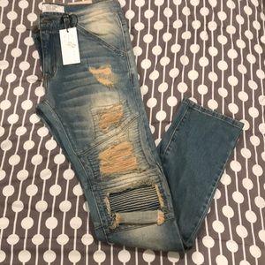 Mens Golden denim Jeans!